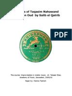Saliba El Qatrib - Oud taqasim