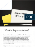 Representation - Theoretical Research