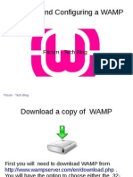 Installing and Configuring a WAMP Server in Windows 7 & 8Wamp