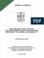 MSc Dissertation Bristol University Development Studies the Barcelona Declaration