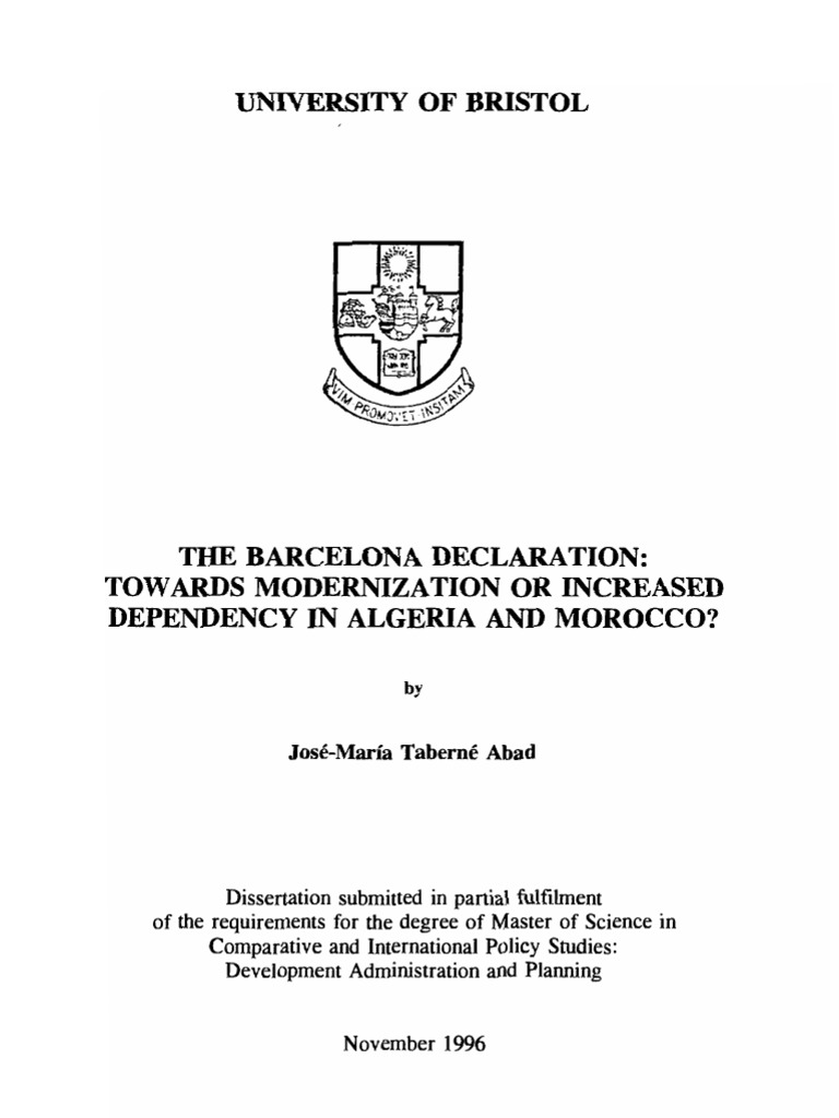 Bristol university phd thesis