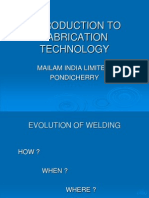 Intoduction to Welding