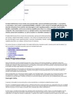 PGDC 5-03 GIft Pvt Bus Interests