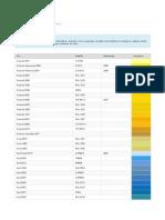 Cartela de Cores - Tintas e Vernizes - Produtos e Serviços - Brasil - WEG