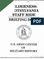 Wilderness-Spotsylvania Staff Ride Briefing Book