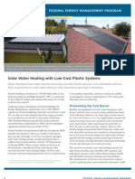 Water Heating Solar Systems