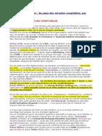 Francois Leclerc 3 Avril 2009 - Au Pays Des Miracles Comp Tables - Fr Crise Nouriel Roubini Jorion Sartoni 34 Loic Abadie GEAB Trading