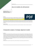Análise comparativa de modelos de alinhamento