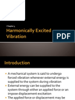 Harmonically Excited Vibration