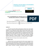 Cost and Performance Optimization of Induction Motor Using Genetic