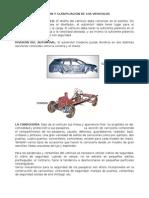 CAPITULO II, División y Clasificación de Vehículos