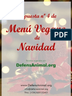 Menu Vegano Navidad 4