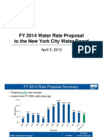 Your Water Bill is going up....again!