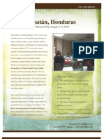 Honduras Mission Trip Newsletter, Vol. 1
