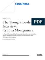 00163 Thought Leader Cynthia Montgomery