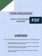 Term Insurance Example
