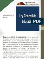 Ley General De La Educación JAZMI