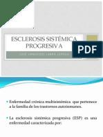 esclerosis sistemica progresiva
