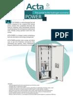 Acta Power Datasheet