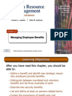 HRM10eChap14- Managing Employee Benefits