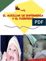175072 El Auxiliar de Enfermeria y El Puerperio