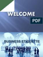 Business Etiquette Conference