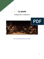 La Peste Protagonista nella Letteratura  (Anna Rosa d'Ascoli)
