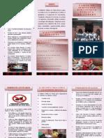 Folleto Carta de Servicios Biblioteca Publica de Cubara