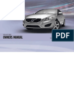 S60 Owners Manual MY11 en-Int Tp12669