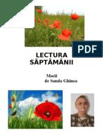 LECTURA   SÃPTÃMÂNII -21