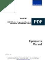 Mach HD Operation[1]