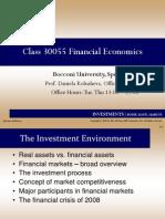 Financial Economics Bocconi Lecture1