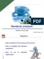 Handover Analysis of 3G network