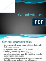 Lec 3 Carbohydrate