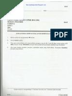 UPSR Percubaan 2012 Pahang B.inggeris Paper 1