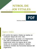 Control de Signos Vitales