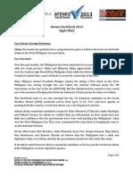 8th Ateneo FactCheck 2013 Project Brief
