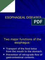 Copy of Esophageal Diseases Imag.