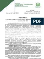 Regulament Finalizare USAMV Iasi 2013