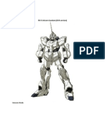 Gundam Unicorn Mecha.docx