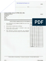 UPSR Percubaan 2012 Pahang Matematik Kertas 2
