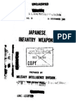 Japanese Infantry Weapons Report (English)
