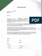 Helmet Declaration