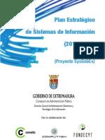 Plan de Sistemas - Proyecto SysGobEx