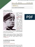 El Misterio Del Fascismo