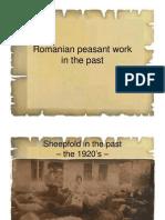 Romanian Peasant Work