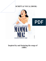 Mamma Mia! the Musical Script | Leisure | Entertainment