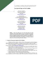 Zaphiris Et Al. - 2001 - Panel on Special Topics of Web Usability - WebNet