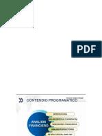 1. Contenido Programatico de Analisis Financiero