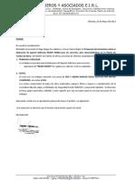 Carta 49-2013 Exalmar - Chincha-Agente Adhesivo